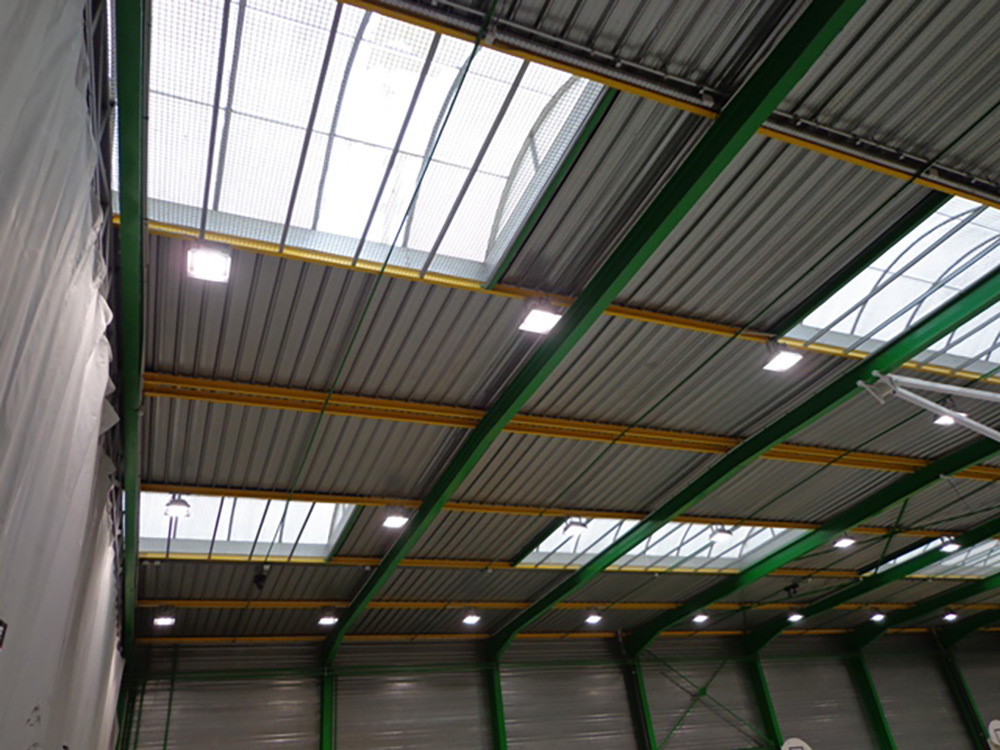 éclairage Led Complexe Sportif Chevigny St Sauveur