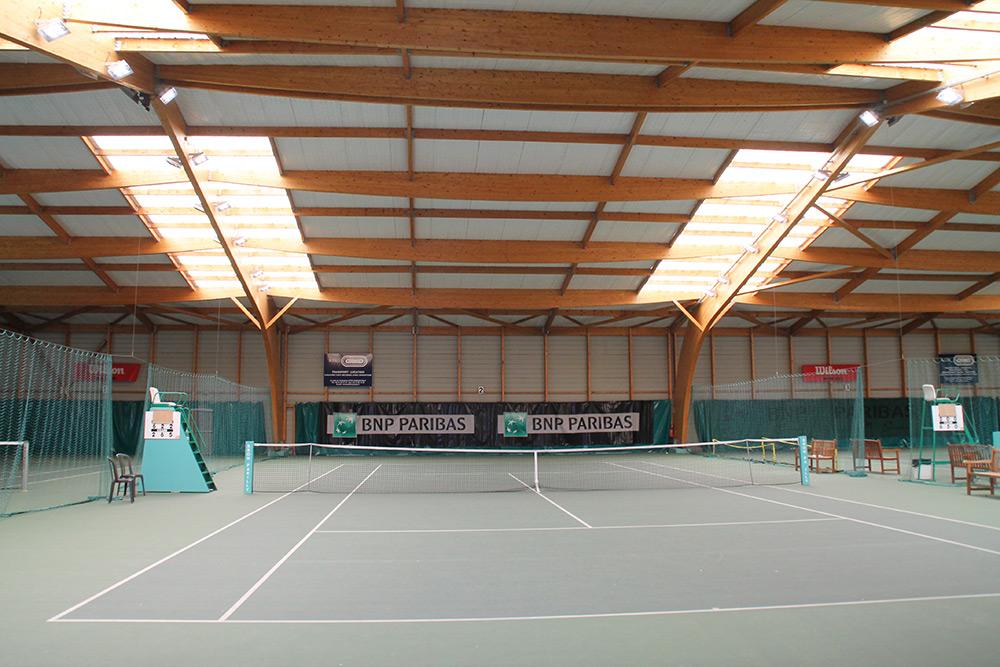 éclairage Led Court Tennis Resine Couverte Ledustry