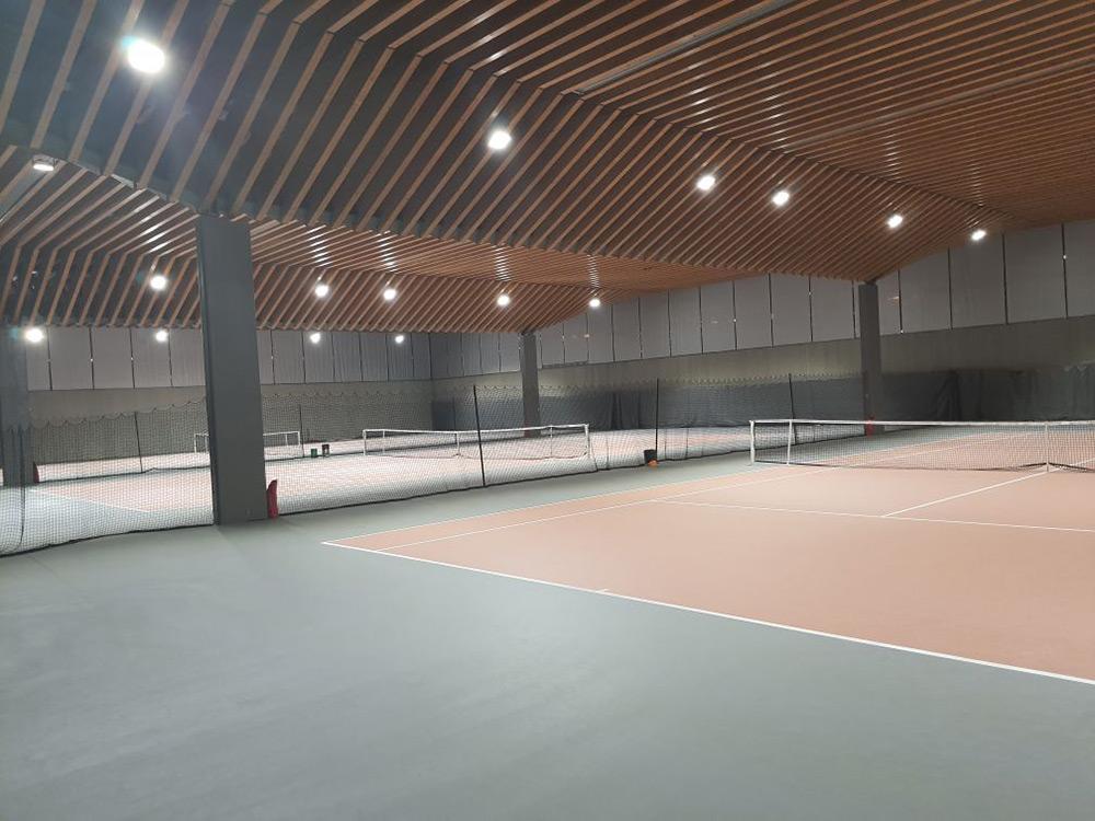 éclairage Led court de Tennis : Comité de Paris