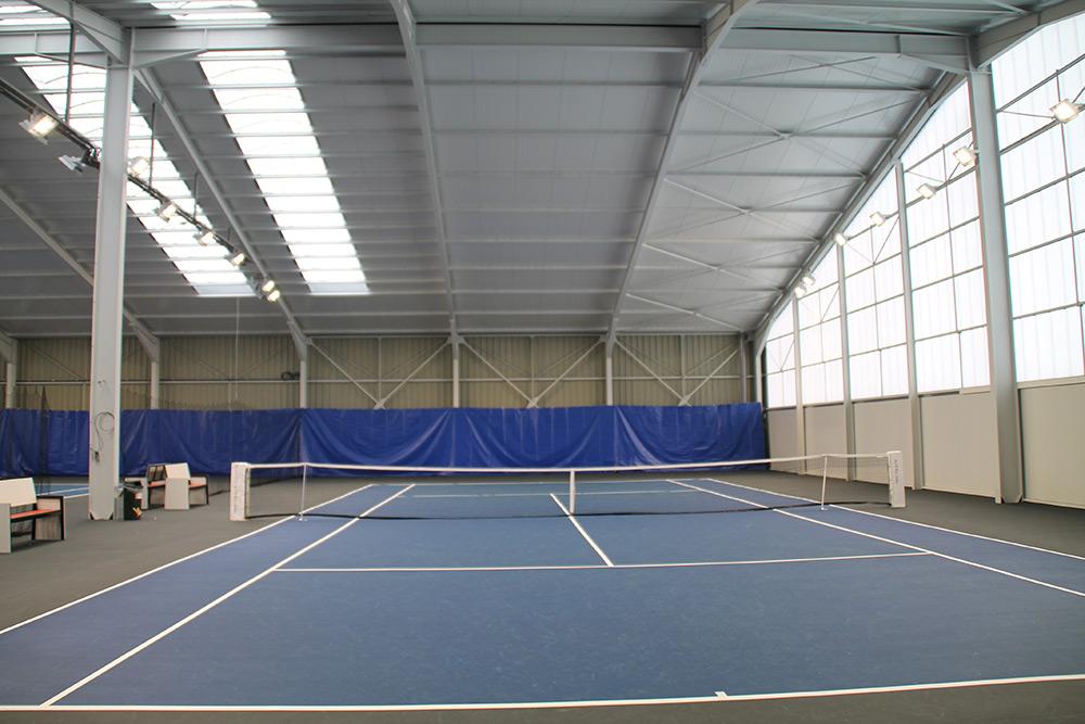 éclairage Led Tennis Court Résine Ligue Lorraine Ledustry