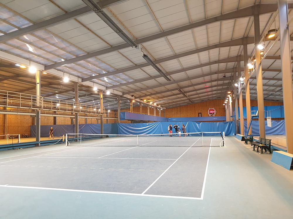 projecteurs Led haute performance Tennis Grand Besançon