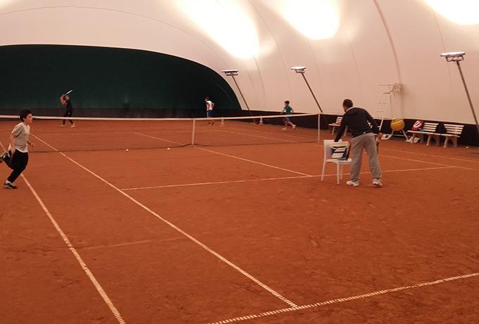 éclairage led développement durable terre battue tennis