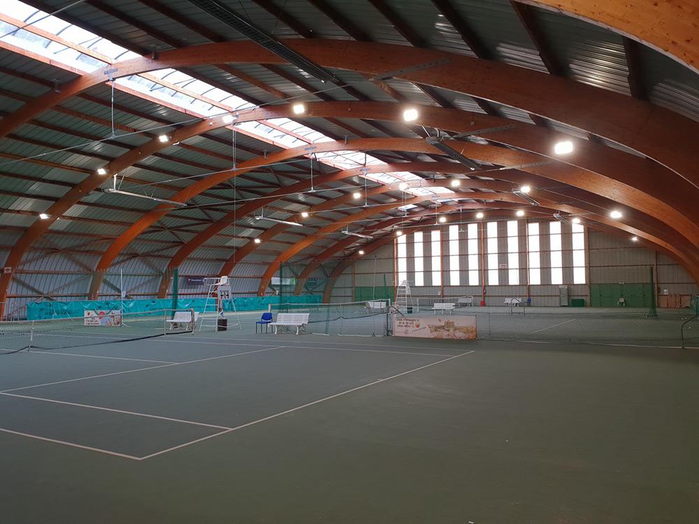 Luminaire Led Court Tennis Ligue Centre Ledustry