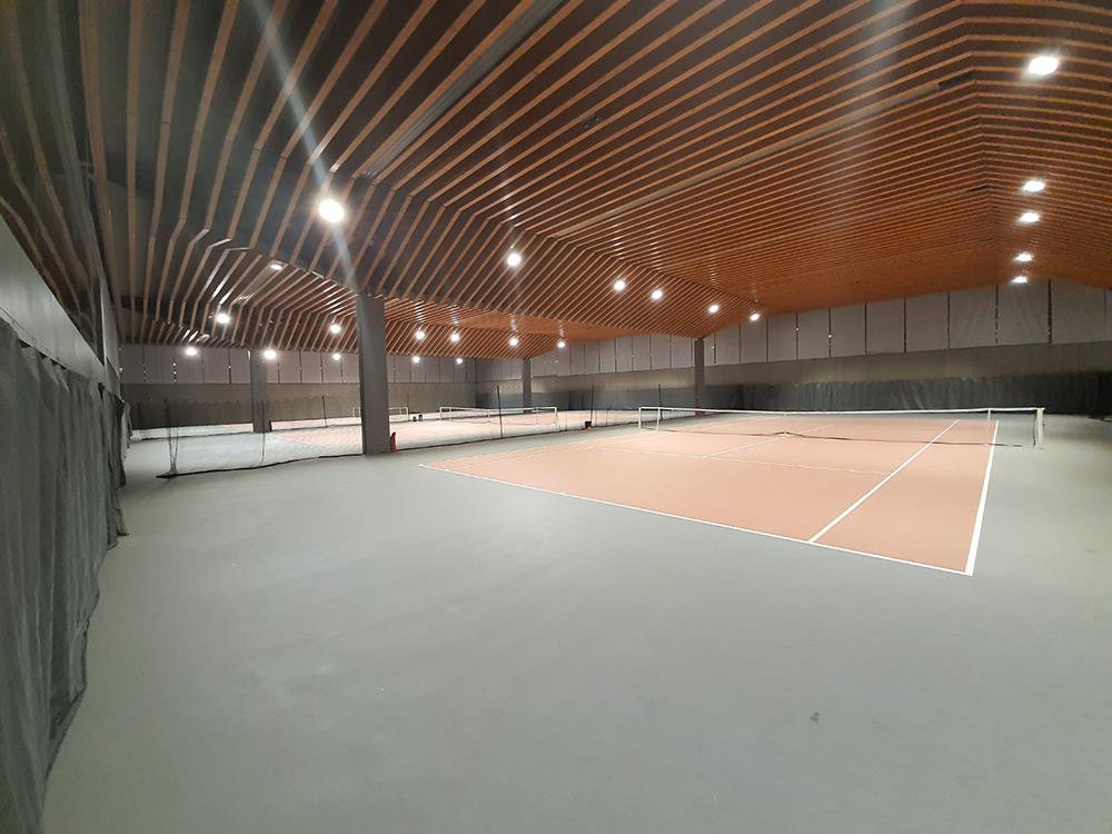 Luminaires Led court de Tennis : Comité de Paris
