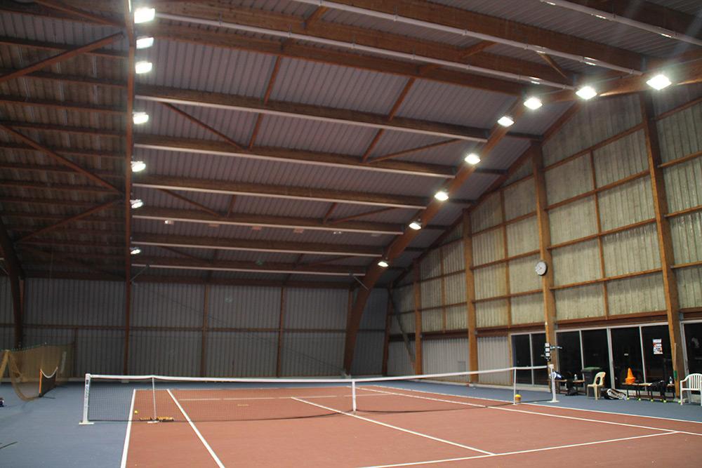 Luminaire Led Tennis Court Resine Couvert Hettange Ledustry