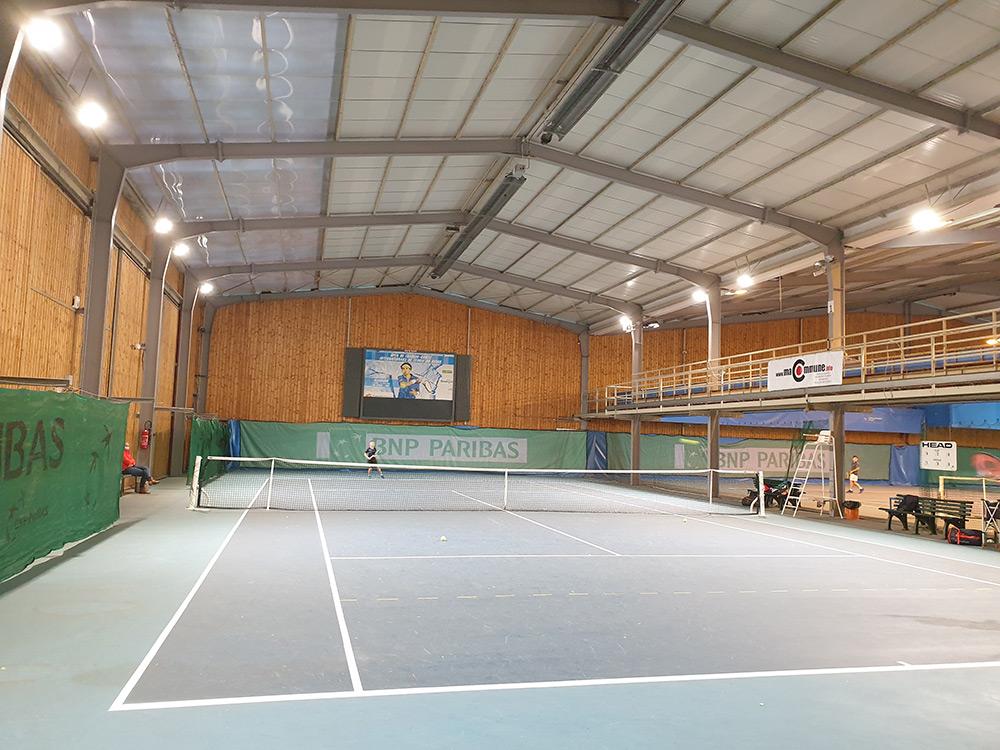 Luminaire Led haute performance Tennis Grand Besançon