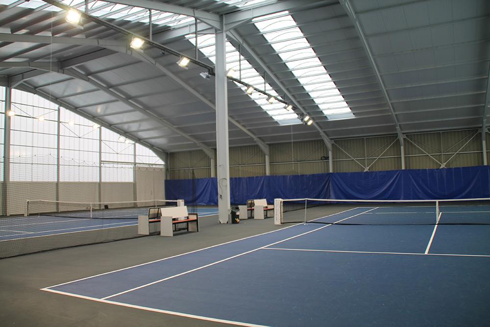 Luminaires Led Tennis Court Resine Ligue Lorraine Ledustry