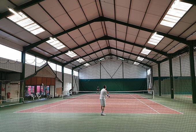 Luminaires Led terrains de tennis tc langres