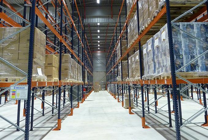 Luminaires Led Zone De Stockage Industrie