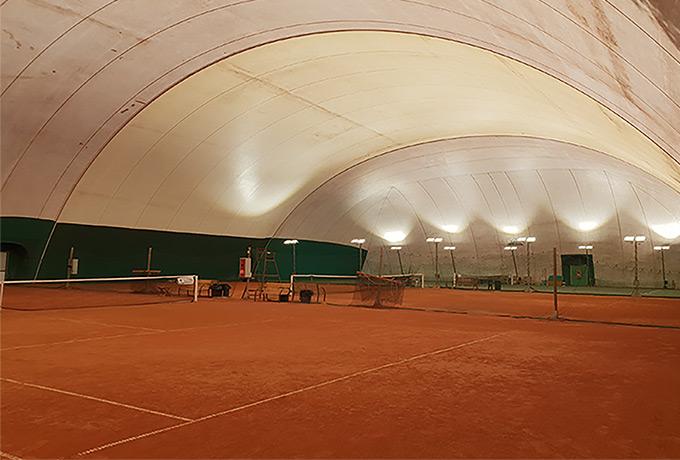 éclairage Led haute performance salles sportives
