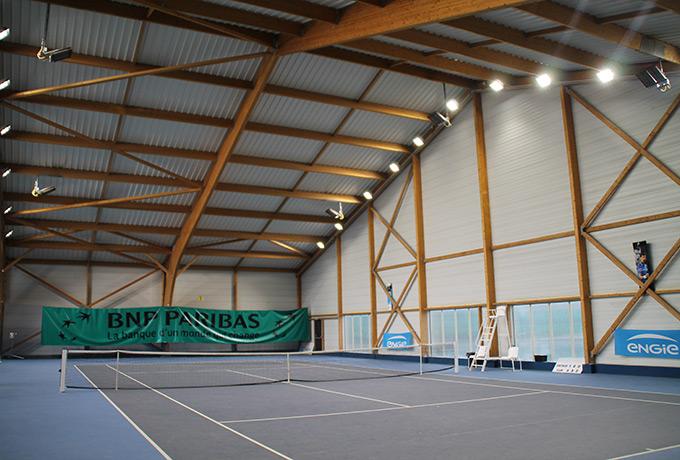 luminaires Led haute performance salles sportives