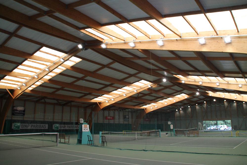 projecteur Led Court Tennis Résine Couverte Ledustry