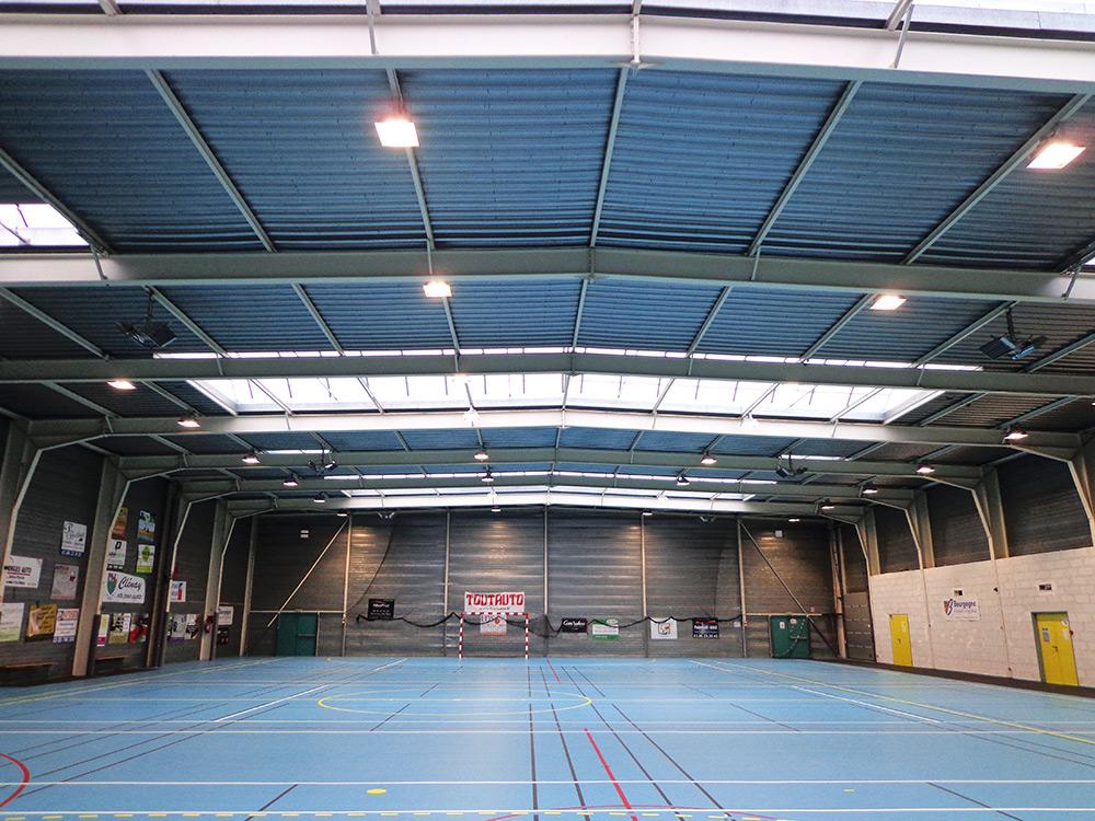 projecteurs Led Gymase Sportif Clenay