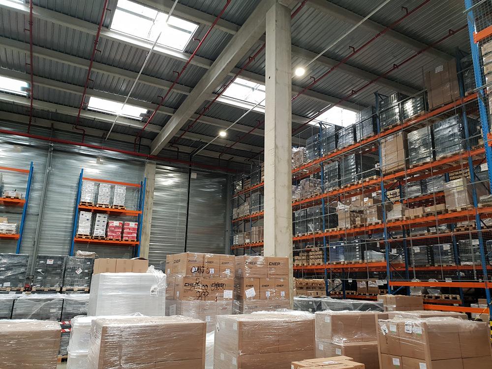éclairage led haute performance pour industrie
