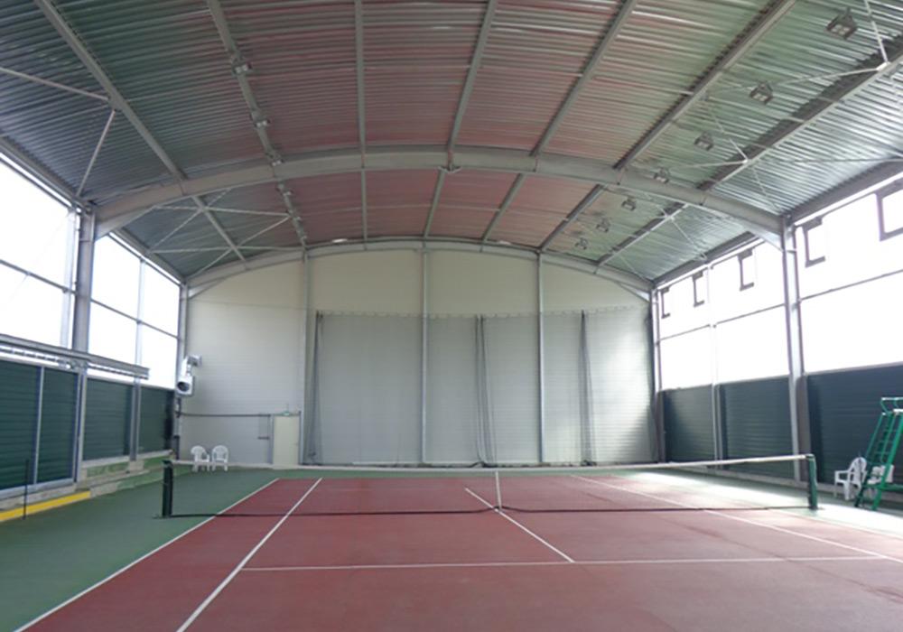 Projecteurs Led complexe sportif couvert Pouilly En Auxois