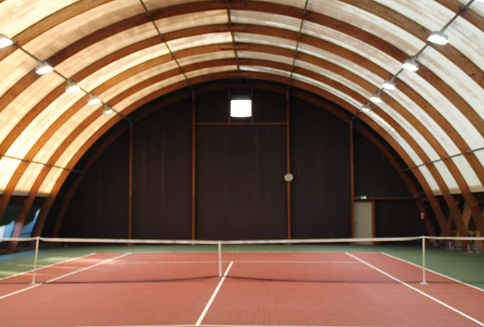 luminaires led économie énergie salle sportive